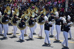 2016 ressortissant Cherry Blossom Parade dans le Washington DC Photos libres de droits