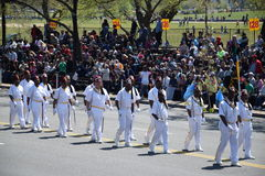 2016 ressortissant Cherry Blossom Parade dans le Washington DC Photographie stock libre de droits