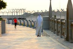 Ressortissant d'Emirati Photographie stock libre de droits