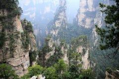 Ressortissant Forest Park de Zhangjiajie photo stock