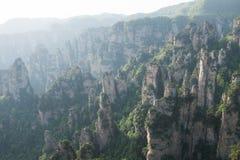 Ressortissant Forest Park de Zhangjiajie image stock