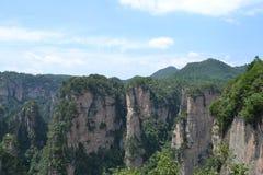 Ressortissant Forest Park de Zhangjiajie Images libres de droits