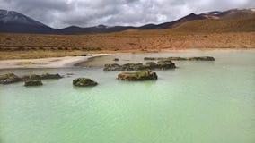 Ressorts d'eau de Polloquere - Chili Photo stock