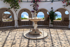 Ressorts de Kalithea en Rhodes photos libres de droits
