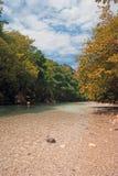 Ressorts et gorge de rivière d'Acheron photographie stock