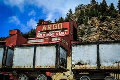 Ressorts le Colorado de l'Idaho de mine d'Argo Image stock