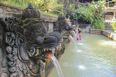 Ressorts saints en île de Bali Photo stock