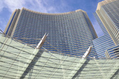 Ressource d'aria de Las Vegas Images libres de droits