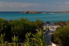 Ressource d'Ayia Napa. La Chypre. Photographie stock libre de droits