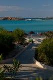 Ressource d'Ayia Napa. La Chypre. Images stock