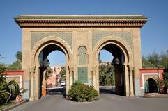Ressource de golf à Marrakech images stock
