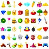 Ressource de jeu pour l'interface utilisateurs Photos stock