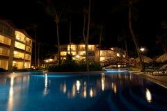 Ressource de luxe la nuit Images stock