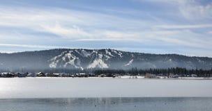 Ressource de montagne de Big Bear Photographie stock libre de droits