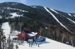 Ressource de vacances de ski de Shugarbush, Vermontn Image libre de droits