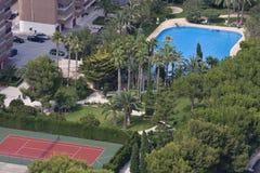 ressource Espagne de benidorm Image stock