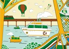 Ressource, illustration Image stock