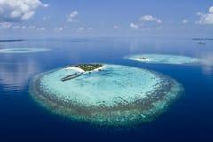 Ressource sur le récif coralien d'A photographie stock