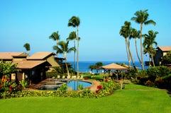 Ressource tropicale de logement Images stock