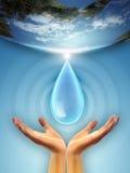 Ressources en eau illustration stock