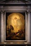 Ressurreição de Christ imagens de stock