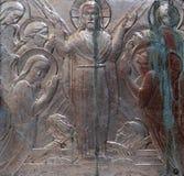 Ressurreição de Jesus fotografia de stock