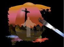 ressurreição de jesus Imagens de Stock Royalty Free