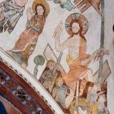 Ressurreição de Jesus do túmulo imagem de stock