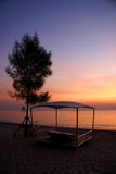 The rest. This is picture of the nice sunrises in thailand stock photos