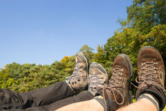 Free Rest After Hiking Royalty Free Stock Images - 45637559