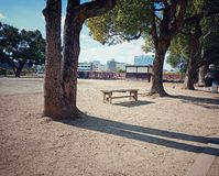 The rest area at Himeji castle, japan stock photo