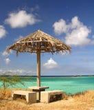 Rest Area in Paradies. Spanish Lagoon / Aruba Royalty Free Stock Photos