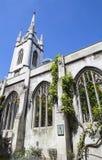 Rest av den St-Dunstan-i--öst kyrkan i London Royaltyfri Fotografi