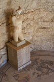 Rest av garnering av den forntida villan Romana del Casale royaltyfria bilder