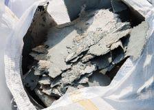 Rest av reparationen av beläggningen för glasfiberförstärkningkåda Royaltyfri Fotografi