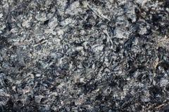 Rest av wood kol och aska efter förbränningen av vedträt royaltyfria foton