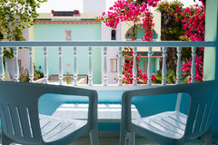 Rest on a balcony Stock Photo