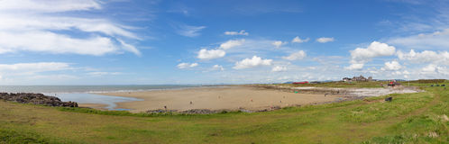 Rest Bay Panoramic Royalty Free Stock Images
