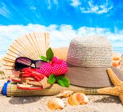 Rest on the beach Royalty Free Stock Photography