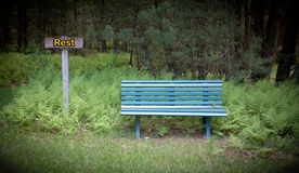 Rest Bench Stock Images