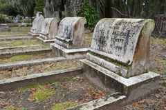 At Rest in Bonaventure Cemetery Royalty Free Stock Photos