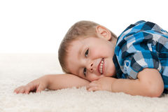Rest on the carpet Royalty Free Stock Photography
