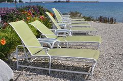 Rest chairs Royalty Free Stock Photos