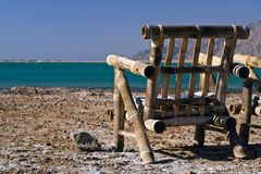 Rest on coast royalty free stock photography