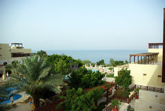 Rest of the Dead Sea. Jordan. Stock Photo
