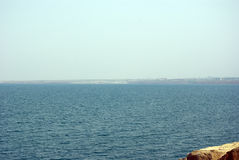 Rest of the Dead Sea. Jordan. Royalty Free Stock Photography