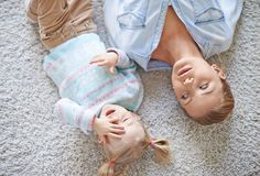 Rest on the floor Stock Photography