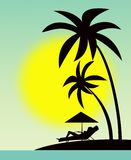 Rest on the Hawaiian islands Royalty Free Stock Photo