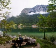 Rest at the \ Hintersee \ Stock Photos