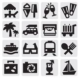Rest icons Stock Photos